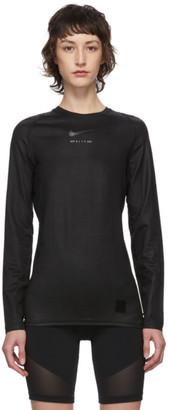 Alyx Black Nike Edition Long Sleeve T-Shirt