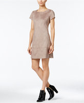 Jessica Simpson Faux-Suede Shift Dress