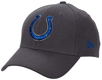 New Era NFL Stretch Fit Graphite 3930 -- Indianapolis Colts (Graphite) Baseball Caps