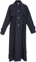 ADAM by Adam Lippes Evening Trench With Jewel Buttons
