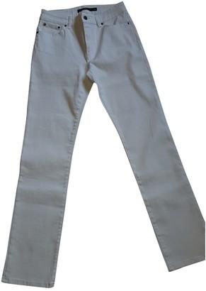 Lauren Ralph Lauren White Cotton Jeans for Women