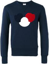Moncler logo chest sweatshirt - men - Cotton/Polyester - M