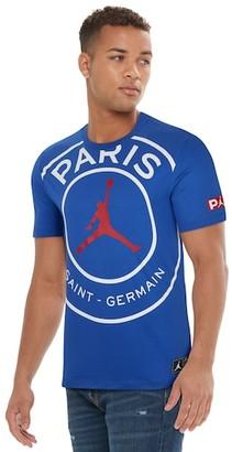 Jordan PSG Jumpman Logo T-Shirt - Paris Saint Germain - Game Royal / White Red