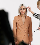 Asos DESIGN Petite ultimate linen suit blazer