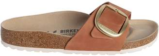 Birkenstock Madrid Big Buckle Nubuck Leather Sandals
