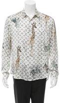 Louis Vuitton 2017 Chapman Brothers Silk Shirt