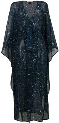 Gilda & Pearl Luna kaftan dress