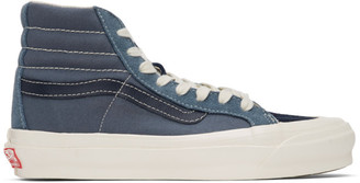 Vans Blue Suede OG 138 LX High-Top Sneakers