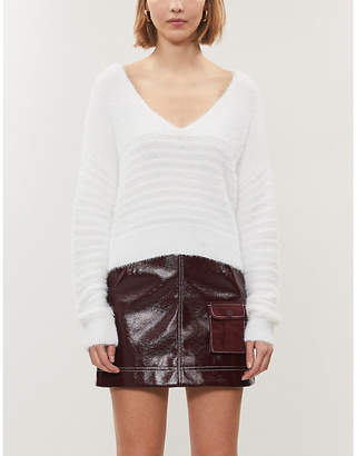 KENDALL + KYLIE PacSun x Kendall & Kylie relaxed-fit cotton-knit jumper