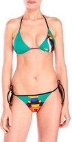 DSQUARED2 Tribal Design Triangle Bikini