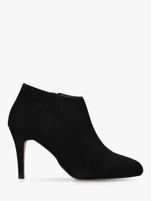 Carvela Wide Fit Serene Stiletto Heel Ankle Boots, Black