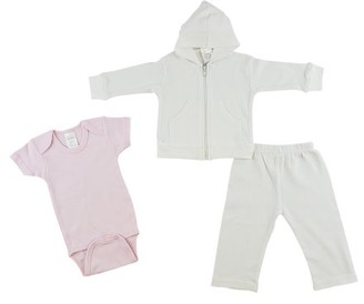 Bambini Infant Sweatshirt, Onezie and Pants - 3 Pc Set