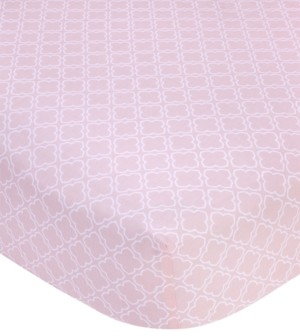 Carter's 100% Cotton Sateen Fitted Crib Sheet Bedding