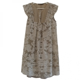 BCBGMAXAZRIA Beige Dress