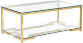 Pangea Home Nina Coffee Table, Gold