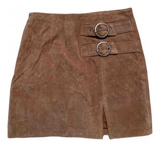 Blank NYC Beige Suede Skirts