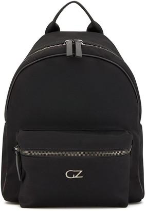 Giuseppe Zanotti Double-Zip Logo Plaque Backpack