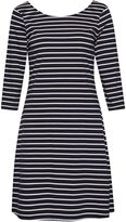 Great Plains Sunday Stripe Jersey Flared Dress