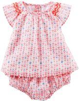 Osh Kosh Baby Girl Printed Babydoll Tee
