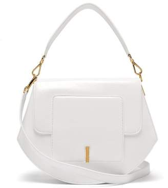 Wandler Al Lacquered-leather Cross-body Bag - Womens - White