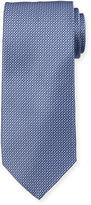 Neiman Marcus Italian-Made Micro-Print Silk Tie