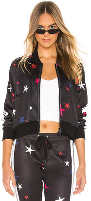Pam & Gela Star Crop Track Jacket
