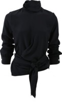 Victoria Beckham Knotted Tie Blouse