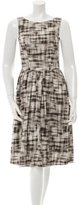 Jason Wu Silk Printed Dress