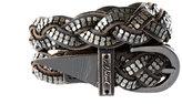 Plaited Stud Detail Belt
