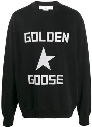 Golden Goose oversized logo sweatshirt
