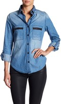 Blvd Button Down Denim Shirt