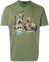 Etro tiger print T-shirt - men - Cotton - S
