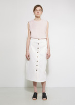 Apiece Apart Correa A-Line Denim Skirt