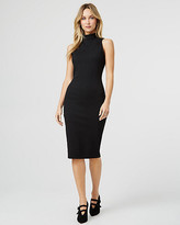 Le Château Ponte Knit Mock Neck Dress