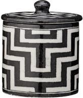 DAY Birger et Mikkelsen Tile Pattern Handpainted Cotton Jar