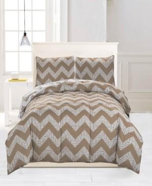 Kensie Wyatt Reversible 3-Pc. Full/Queen Comforter Set Bedding