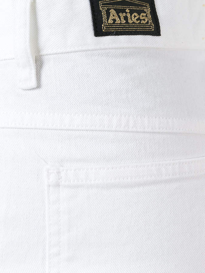Aries Indy flare twill jeans