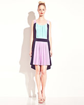 Betsey Johnson Color Block Tank Dress