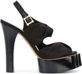 Vivienne Westwood platform sandals - women - Leather/Satin - 36