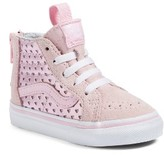 Vans Infant Girl's Sk8-Hi Zip Sneaker