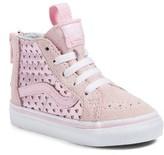 Vans Toddler Girl's Sk8-Hi Zip Sneaker