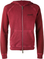 DSQUARED2 zipped hoodie - men - Cotton - XS