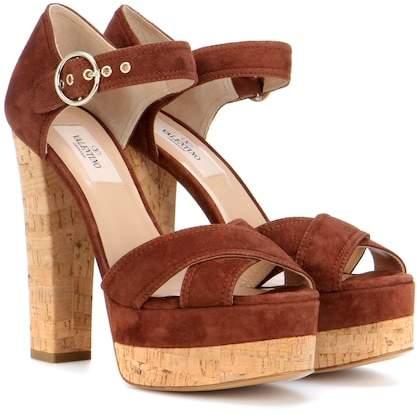 Valentino Suede sandals