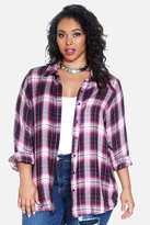 Fashion to Figure Jennifer Plaid Shirt