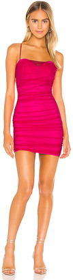 superdown Roxanne Mesh Mini Dress