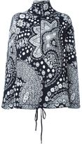Chloé zipped paisley jacquard jumper - women - Cotton - XS