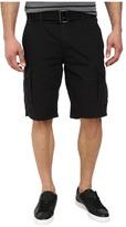 DKNY Mini Ripstop Cargo Shorts in Black