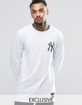 Majestic New York Yankees Long Sleeve T-Shirt Exclusive to ASOS