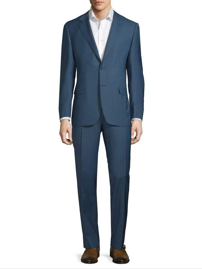 Canali Men's Wool Suit