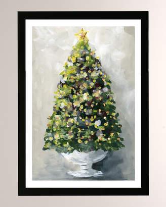 Oliver Gal The Artist Co. Christmas Tree 1 Framed Print
